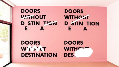 DOORS WITHOUT DESTINATION